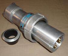 Crouse Hinds APJ10487 Arktite Plug 100A 3W4P Pin&Sleeve USED