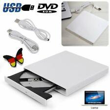 Externes Laufwerk CD DVD RW ROM Brenner USB 2.0 für Notebook PC Netbook Laptop