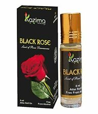 New Kazima Pure Natural Black Rose Apparel Concentrated Attar Perfume 8Ml Rollon