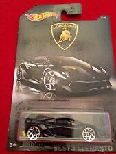2017 Hot Wheels Lamborghini Sesto Elemento Lamborghini Series 2/8 Black (HW280)
