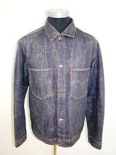 Levis Strauss 70511 chaqueta chaqueta vaquera azul stonewashed Denim talla L