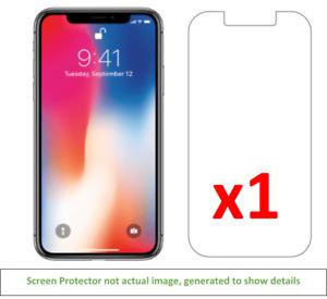 1x iPhone X/Xs Anti-Scratch Screen Protector w/ cloth