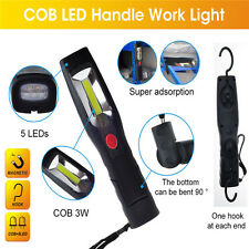 Rechargeable LED COB Camping Work Inspection Light Lamp Hand Tool Torch Garage