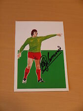 Ray Clemence Signed 6x4 Liverpool FC Postcard - Private Signing - Proof