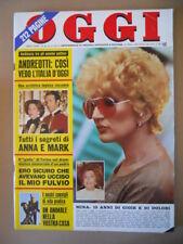 OGGI n°46 1973 Mina Mazzini Miranda Martino Lea Pericoli Alessandro Momo [C41]