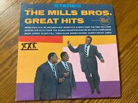 The Mills Bros. Great Hits DOT Records DLP 25157 Jazz VG/VG