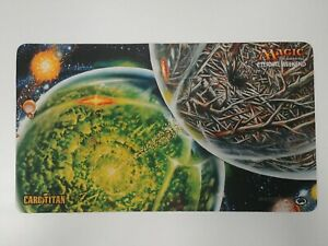 Magic The Gathering Playmat - Eternal Weekend: Crucible of Worlds