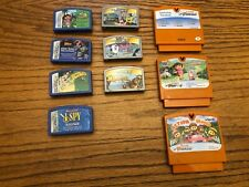 Leapster/Vtech Handheld Learning System Video Game Cartridge Lot 10 games