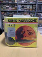 Ennio Morricone 2 LP Giallo Limited Edition Giallo & Black Marbled Vinyl