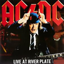 AC/DC LIVE AT RIVER PLATE TRIPLE VINYL LP 180 GRAMS IN COLOUR RED LIMITED