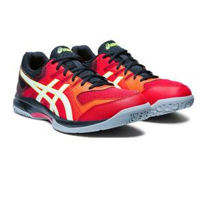 Asics Mens Gel-Rocket 9 Indoor Court Shoes Red Sports Squash Badminton