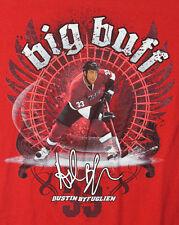 Chicago Blackhawks Big Buff Dustin Byfuglien 33 Red T-Shirt Adult L