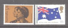 Australia 1970 Royal Visit Mint unhinged set 2 stamps
