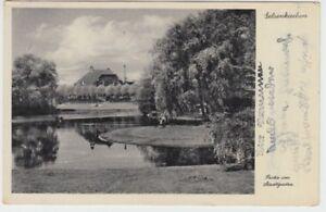 Postcard North Rhine Westphalia Gelsenkirchen Section IN City Garden 1938