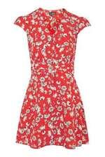 Polyester Short Sleeve Petite Topshop Dresses for Women