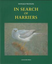 WATSON DONALD ART BOOK IN SEARCH OF HARRIERS BIRD PAINTINGS jumbo hrdbck BARGAIN