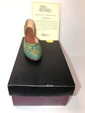 """Just The Right Shoe """"Carved Heel� #25096 By Raine 2000 with Box & Coa"""
