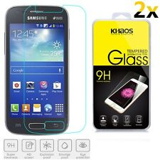 2x KHAOS For Samsung Galaxy Ace 3 Duos S7270 S7272 Premium Tempered Glass Screen