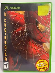 Spider-Man 2 (Microsoft Xbox 2004) Tested Cleaned