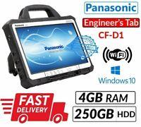 "13.3"" PANASONIC TOUGHBOOK CF-D1 INTEL 847 4GB 250GB WIN 10 for Diagnostic Tablet"
