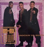 "H-Town Knockin' Da Boots 12"" Single LP Vinyl 1993 Luke Records Debut RARE NMINT"