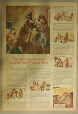 Borden's Milk Ad: Featuring Elsie The Cow ! from 1940's Size: 11 x 15 inches