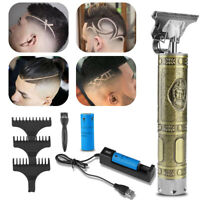 Electric Hair Clippers T-Outliner Barber Shaver Cordless Trimmer Shaving Machine