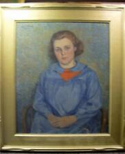 Leal Mack  Original signed Oil Painting on Canvas  1936