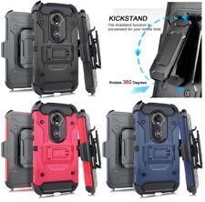 Motorola Moto E5 Play / E5 Cruise - Hybrid Holster Armor Case Cover + Belt Clip