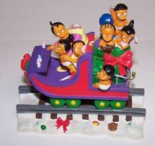 The Simpsons Nahasapeemapetilons Family Daycare Christmas Express Statue Nib