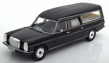 Cult Models 1972 Mercedes Benz /8 W114 Pullman hearse Black 1/18 Scale New!