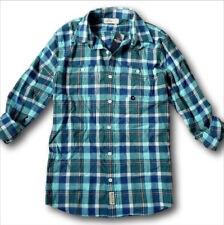 Nuevo con Etiqueta Hollister By Abercrombie Camisa de Cuadros Popelina 88c5bb6f6ee08