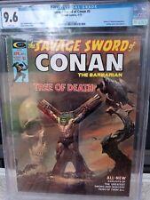 THE SAVAGE SWORD OF CONAN #5 CGC 9.6 ROBERT E. HOWARD BORIS VALLEJO JOHN BUSCEMA