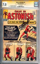 Tales to Astonish #43 1963 CGC 7.5 SS Signed 2X Stan Lee and Larry Lieber