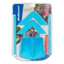 POLISPORT GUPPY MAXI CHILD SEAT STYLE KIT, ARM & FOOT REST + STRAPS LIGHT BLUE