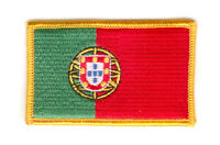 PORTUGAL PORTUGUESE FLAG PATCHES COUNTRY PATCH BADGE IRON ON NEW EMBROIDERED