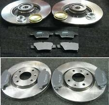 PEUGEOT 207 1.4 1.4HDi SW FRONT REAR BRAKE DISCS PADS FRONT DISCS 266MM