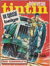 TINTIN n° 97  hebdo  1977  Spécial Belgique - Al Russel et Brock- Achille Talon.