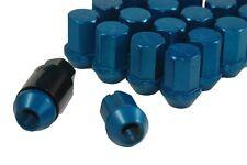 Performance Lightweight Racing Lug Nuts Set Blue 12x1.25 Thread Size 35mm Long