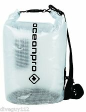 1e8001b82e OceanPro Dry Bag PVC Tarpaulin Water Resistant Waterproof - Clear