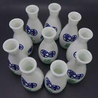 Japanese Sho Chiku Bai Sake Carafe Advertising Barware Collectible - Lot  of 10