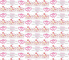 Personalised Wrapping Paper Valentines Day 2018