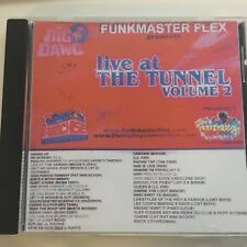 DJ Funkmaster Flex Live from the Tunnel #2 NYC Hip Hop Rap Mixtape MIX CD
