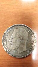 LEOPOLD II ROI 1866 BELGIUM, 5 FRANCS