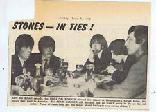 Rolling Stones Pop Music Clippings, Cuttings & Articles