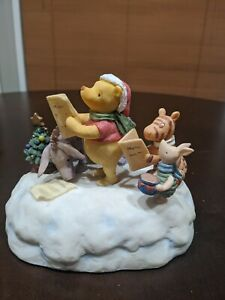Classic Winnie The Pooh Musical We Wish You A Merry Christmas By Charpenete