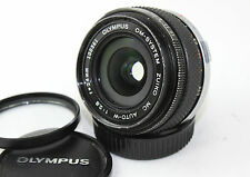 OLYMPUS ZUIKO MC AUTO-W 1:2.8 F=24mm Classic Wide Lens. For OM-1, OM-2 etc.