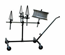Power-TEC 92398 Alloy Wheels Repair/Painting Stand -Holds four wheels with tyres