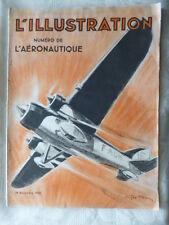 L'ILLUSTRATION NUMERO L'AERONAUTIQUE 19 NOV 1932