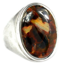 Pietersite 925 Sterling Silver Ring Jewelry s.8 PTCR218